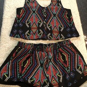 Retro two piece set